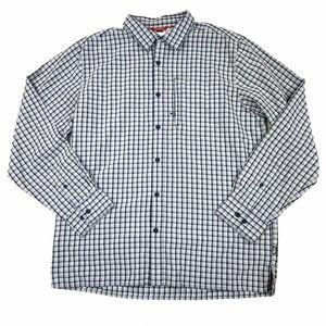 The North Face Plaid Button Down Shirt L